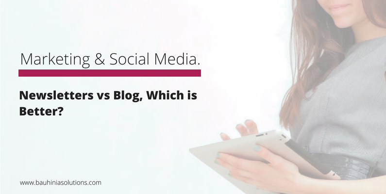 Newsletters vs Blog, Which is Better?