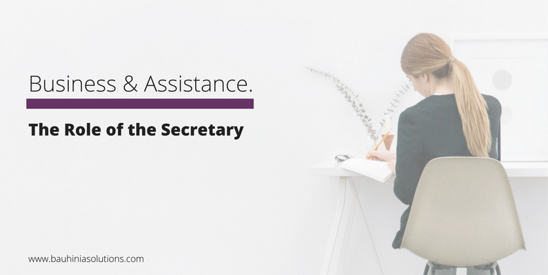 The Role of the Secretary