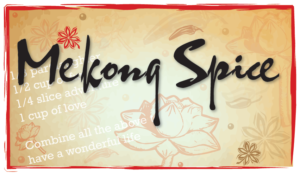 Mekong Spice Label