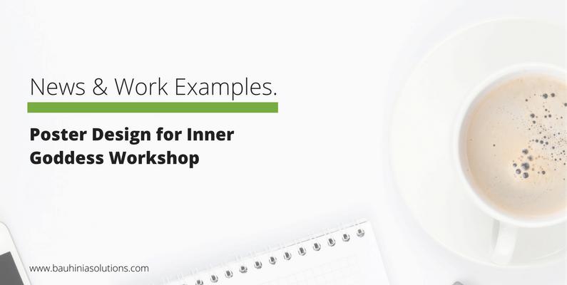 Poster Design for Inner Goddess Workshop