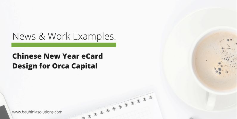 Chinese New Year eCard Design for Orca Capital
