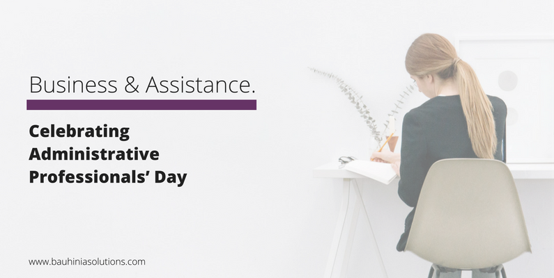 Celebrating Administrative Professionals' Day