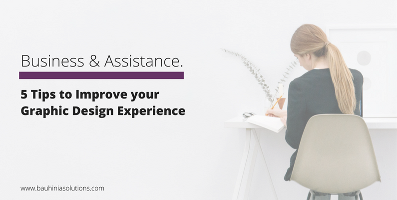 5 Tips To Improve Your Graphic Design Experience