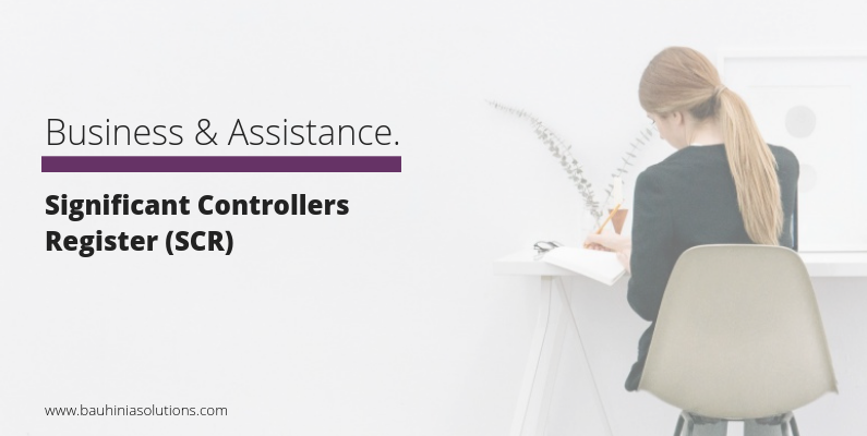 Significant Controllers Register