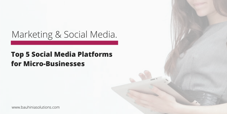 Top 5 Social Media Platforms for Micro-Businesses
