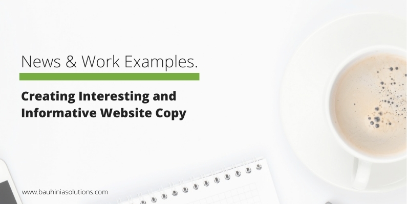 Creating Interesting and Informative Website Copy