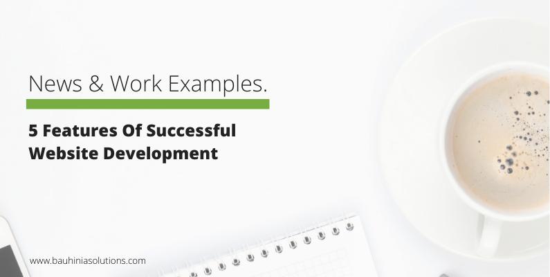 5 Features Of Successful Website Development