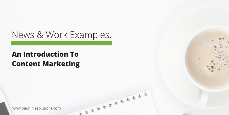 An Introduction To Content Marketing